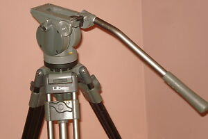 Professional-LIBEC-Tripod-System-with-H37-FLUID-HEAD-and-SP-1-SPREADER-Great