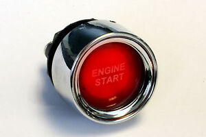 Push-button-red-illuminated-starter-switch-engine-start