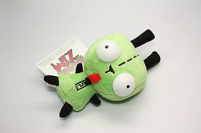 Alien Invader Zim DOG Suit Gir Robot Plush Doll Green Figure 5.5inch Toys