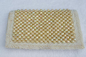 Vintage-1950s-60s-White-and-AB-Ivory-Beaded-Evening-Bag-Made-in-Hong-Kong