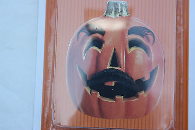 NWT Pumpkin Decorating Kit Moustache And Eyebrows~~Just Awesome!! Halloween (Awesome Halloween Pumpkin)