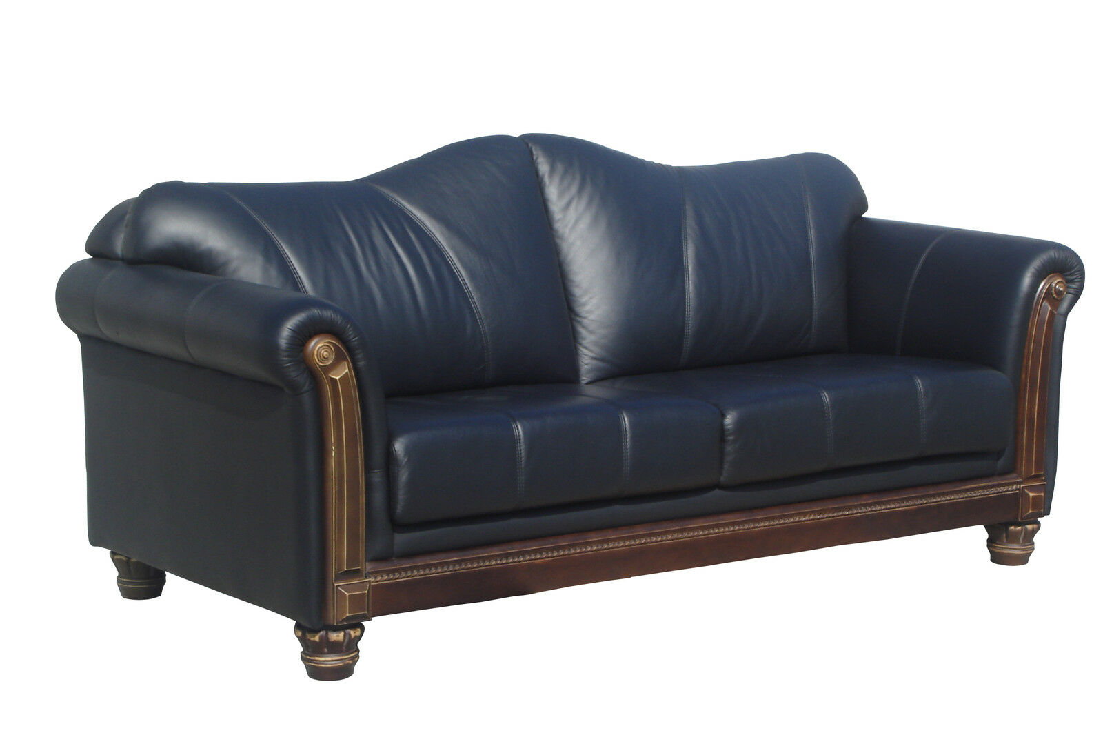 kolonialstil ledersofa lederm bel leder sofa 3 sitzer couch 278 3 3023 sofort eur 949 00. Black Bedroom Furniture Sets. Home Design Ideas