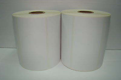 2 Rolls 4x2 Direct Thermal Barcode Shipping Desktop Zebra 2844 750 Labels P/r