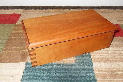 Decorative Wooden Cherry Box Joint Jewelry Box Keepsake Box real wood