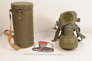 WWII-German-Gas-Mask-Canister-Original-Period-Items