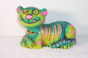 Vintage Napco Colorful Tommy Tiger Napcoware Bank 4