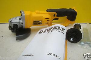 DEWALT XR LI-ION DCG412 18V 125MM 5