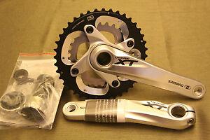 NEW-Shimano-XT-FC-M785-Dyna-Sys-MTB-Bike-Crankset-BB-40-28T-175mm-2x10-Silver