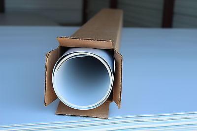 White Styrene Polystyrene Plastic Sheet .030 Thick 4' 4 X 6' 3