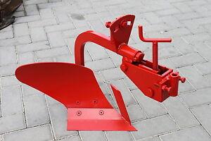 Single Plough furrow Plow for two wheel tractors BCS tractor 2 tiller cultivator
