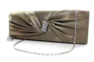 New Snap Evening Purse Clutch Bag Party with Rhinestones Twirl - Handbag