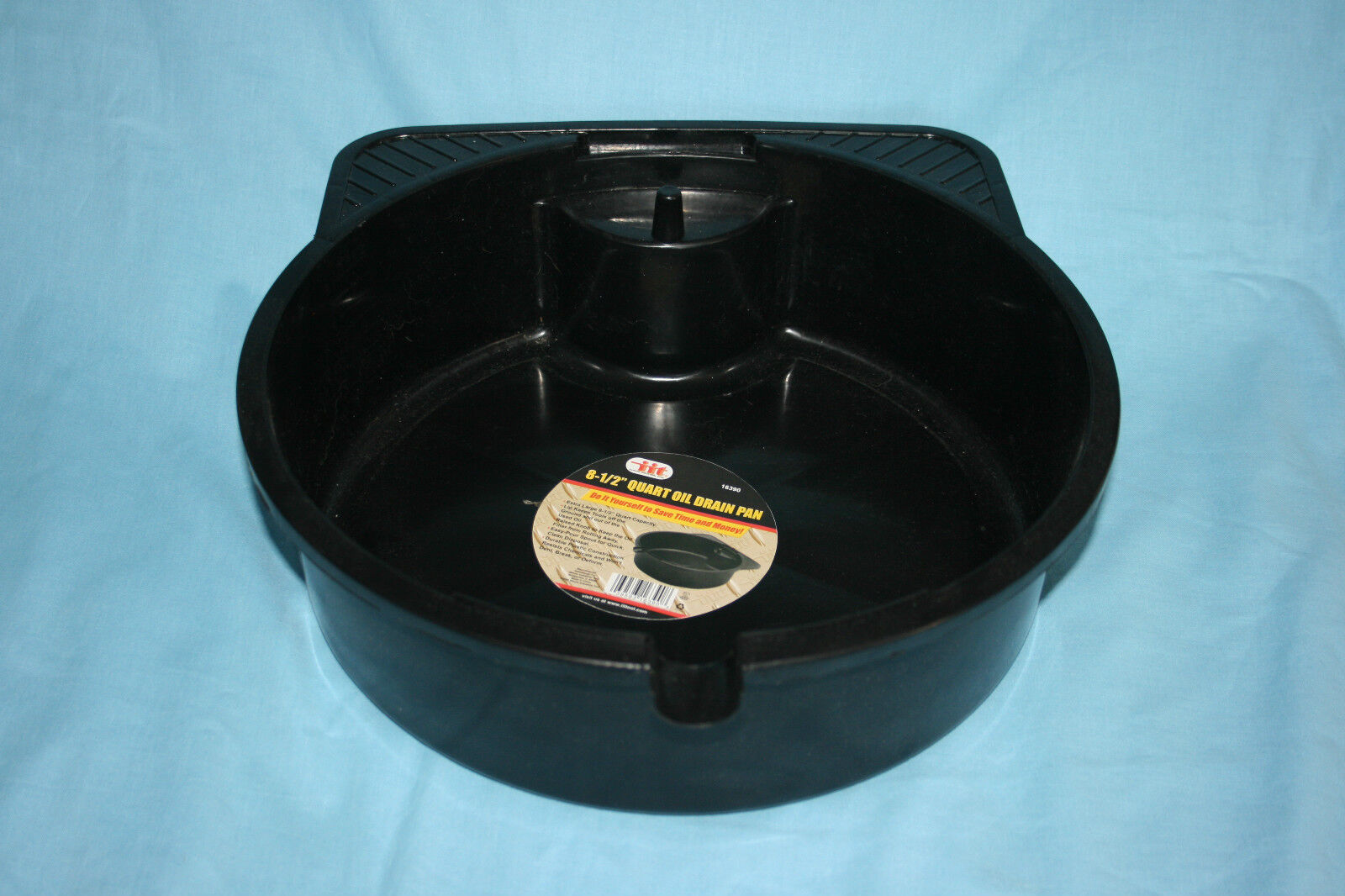 8 5 Quart Oil Drain Pan Spout Plastic Change Your Own Oil Save Money Black New For Sale In