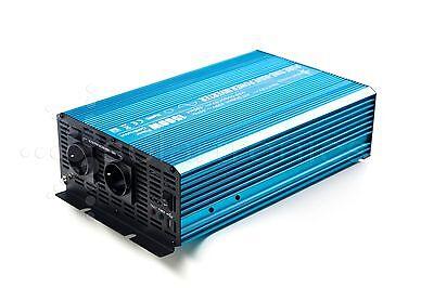 Spannungswandler Wechselrichter reiner Sinus 1500 3000 Watt 12V 230V Inverter