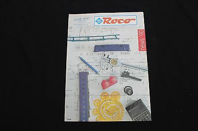 P196 Catalogue Train Roco Ho New's 1990 24 Pages Neuf Couleur