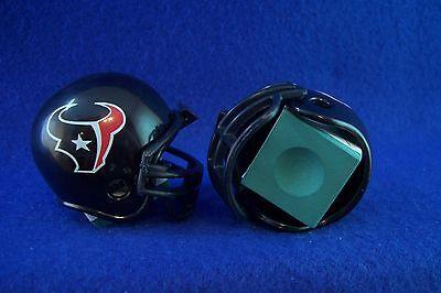 2 Nfl Football Billiards Mini Gumball Helmets Pool Chalk Holders Houston Texans