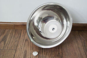 27. New Small Stainless Steel Sink 24cm For Caravan, Boat, Catering .