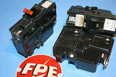 Federal Pacific 20 Amp 1-pole Breaker Type Na Wide