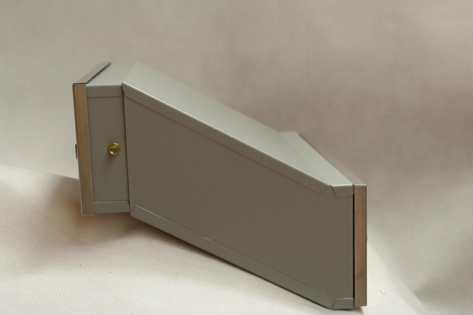 mauerdurchwurf briefkasten edelstahl einbau eur 48 99 picclick de. Black Bedroom Furniture Sets. Home Design Ideas