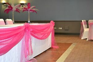 Swags-for-Wedding-Tables-ORGANZA-FREE-POST-UK-SELLER-40-COLOURS