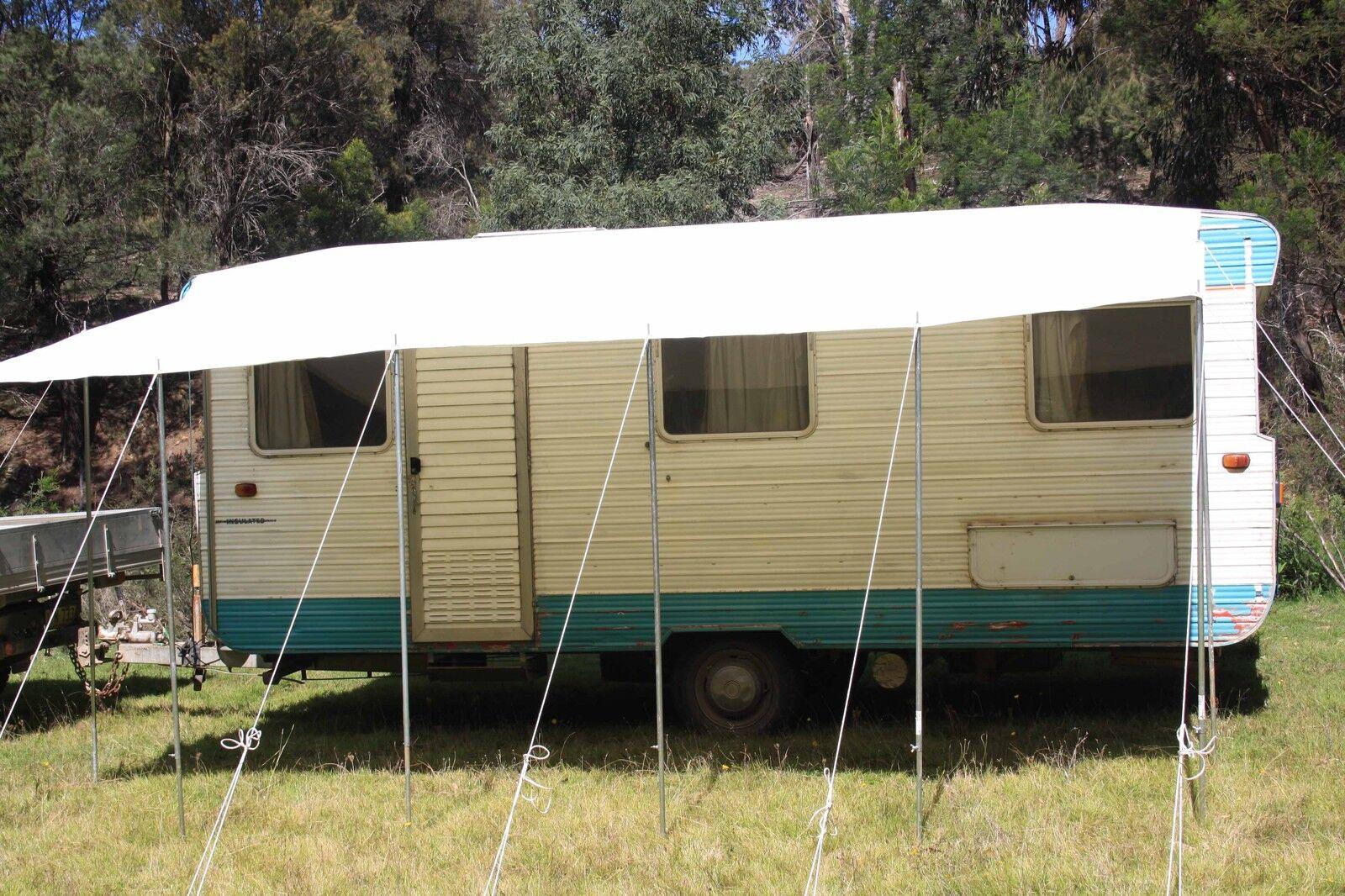 Caravan RV 5.0 x 2.5 metres Awning Annexe Motorhome Camper ...