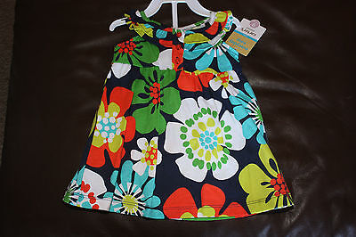 NWT Carter's Dress With Bloomers 9M Floral