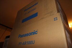 NEW Panasonic PT-AR100U PT-AR100 1080P LCD Home Theater Projector PT-AH1000 HDMI