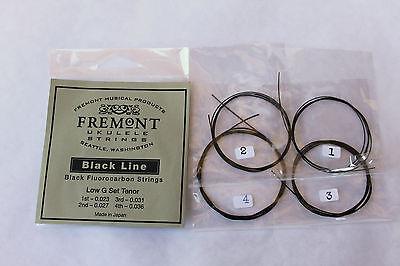 Fremont Tenor Low G Set Blackline Fluorocarbon Ukulele Strings