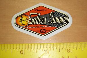 VTG-ENDLESS-SUMMER-SURF-SURFING-SURFBOARD-BEACH-WOODY-WOODIE-WAGON-STICKER-DECAL