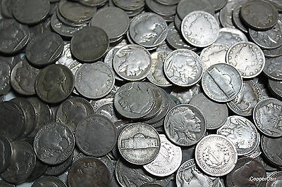 OLD Nickel Slot Machine Hoard 1880's to 1959 30 Coins $29 BIG Bonus