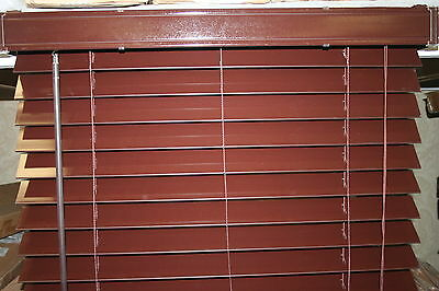 FAUX WOOD BLINDS - HIGH GLOSS