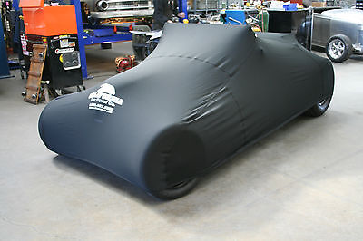 1941 Willys Coupe Without Bumpers Custom Form Fit Black Customweave Car Cover