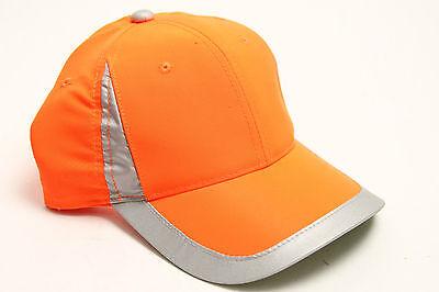 Reflective Safety Hat For Running Jogging Biking Orange Free Shipping