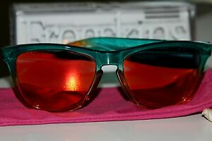 Oakley-Frogskins-Fire-Flora-with-Red-Orange-Iridium-Lenses-frogskin-sunglasses