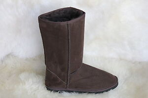 Ugg-Boots-Tall-Synthetic-Wool-Colour-Chocolate-Size-10-Mens
