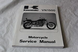 KAWASAKI-VN1500-VN-1500-SERVICE-MANUAL-GENUINE-OEM-1987-1999