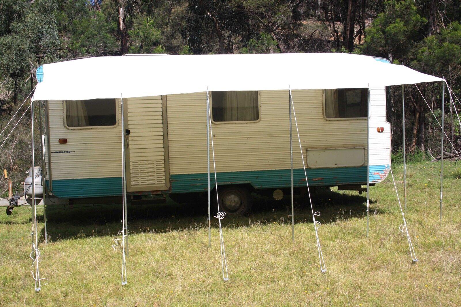 Caravan Rv Awning Annexe Motorhome Camper Sun Shade 6 0 Metres X 2 5 Metres Ebay