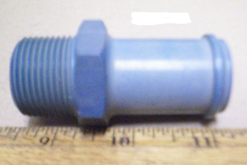 AF Co. - Aluminum Pipe to Hose Straight Adapter - P/N: AN840-16D (NOS)