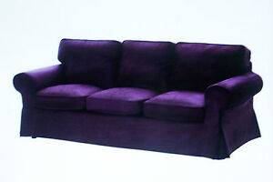 New Ikea Ektorp COVER SET ONLY for 3 seat sofa   in Tullinge Lilac