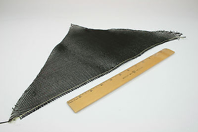 "Carbon Fiber Fabric Remnant 18"" x 12"" x 12"" - 3k 5.7oz - Package of 20 pieces on Rummage"