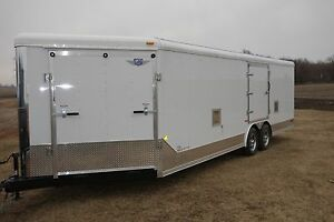 New-amp-Used-Enclosed-Car-Snowmobile-Motorcyc-ATV-Trailer