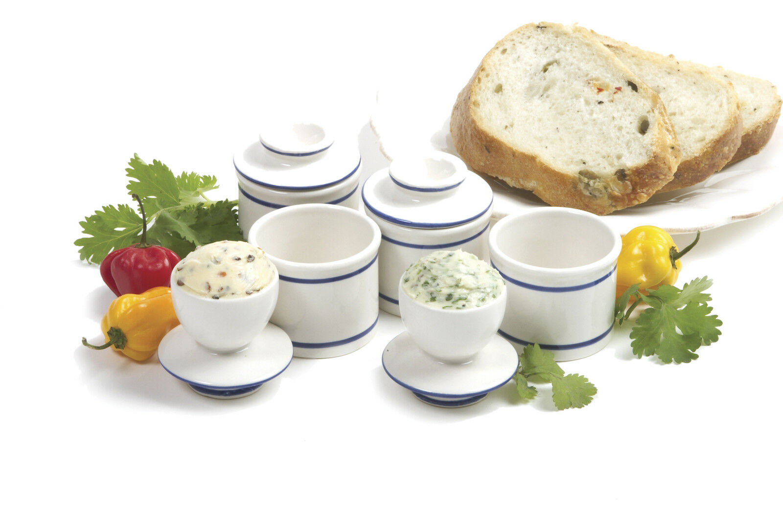 Norpro 287 Mini 4 Piece Butter Keeper Set, You Get 4 Butter Keepers on Sale