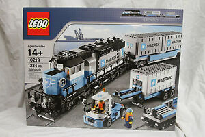 Lego 10219 Maersk Train Creator Brand New Sealed Fast Shipping