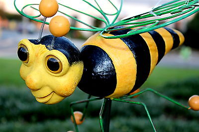 Bee Garden Stake/ Statue/figurine Bee Yard Art - Large