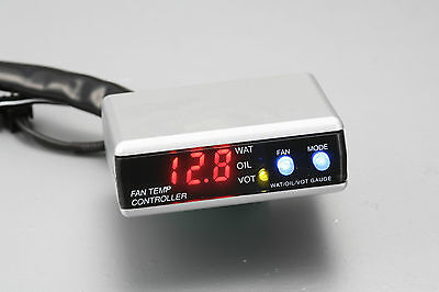 Autogauge Fan Super Controller VOLT / Water Temp/Oil Temp w/Sensor Gauge