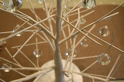 White Twig Branch Tree Table Top Decorations Christmas Wish Wedding Easter