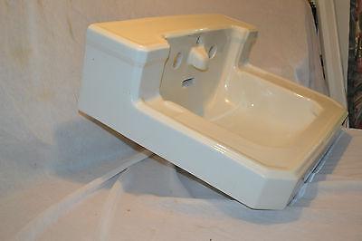 Antique Vintage 1932 Standard Bull nose Bathroom  Shelf Sink Bowl