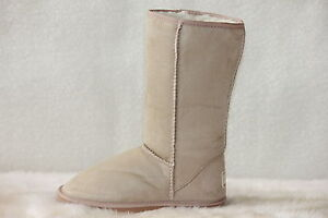 Ugg-Boots-Tall-Synthetic-Wool-Size-10-Ladys-Size-8-Mens-Colour-Beige