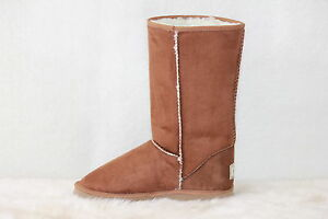Ugg-Boots-Tall-Synthetic-Wool-Size-8-Ladys-Size-6-Mens-Colour-Chestnut