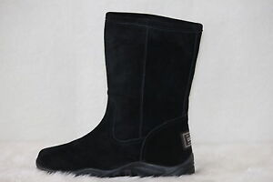 Australian-Sheepskin-Fashion-Ugg-Boots-Colour-Black-Size-7-Ladys
