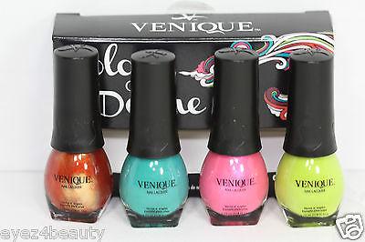 Venique Color Of Desire Mini Nail Lacquers Set 2012 Minis